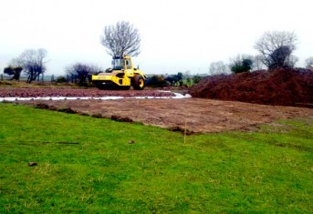 Laying Cables at Tandragee